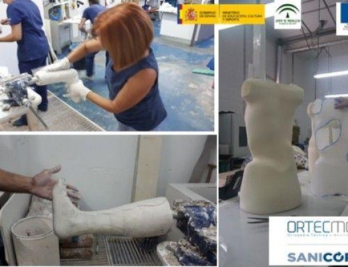 Proyecto de aprendizaje en las empresas: Actualización en procedimientos ortoprotésicos