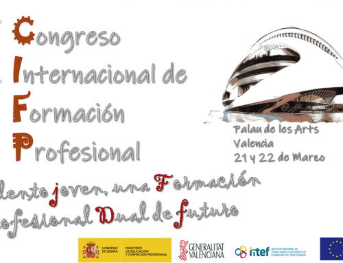 Una representación del CPIFP Aynadamar asiste en Valencia al encuentro nacional de Centros Integrados de FP y al Congreso Internacional de FP